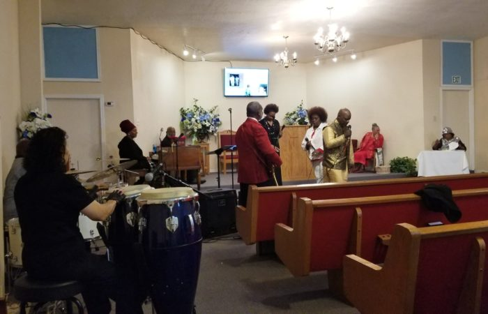 "the Bible Faith Remnant @ New Jerusalem Deliverance Ctr. Remnant  Ministries, Oakland, CA  ""Black History Month"", 02-16-20"